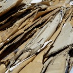 Recycle refuse waste cardboard paper compacted bail